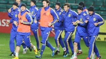 Сборная Украины запланировала товарищеский матч в Испании