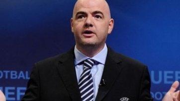 Инфантино: «К нам не обращались по поводу чемпионата СНГ»