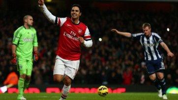 Два пенальти позволили «Арсеналу» вернуться в еврокубковую гонку