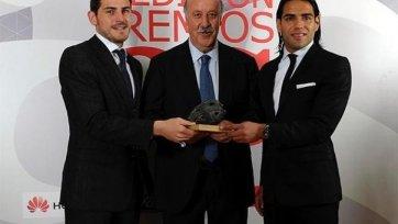 Касильяс, Фалькао и дель Боске признаны лучшими спортсменами 2012 года в Испании
