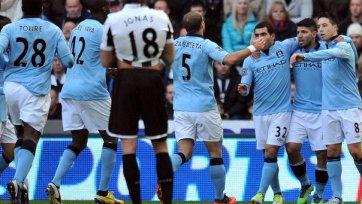 «Манчестер Сити» проблем в матче против «Ньюкасла» не испытал