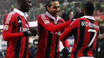 «Милан» преподал «Пескаре» урок футбола