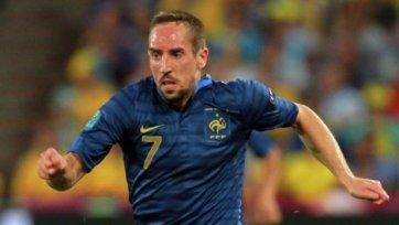 Франк Рибери сможет помочь «Баварии» лишь в финале Кубка Германии