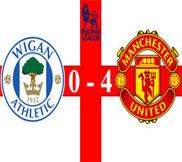 Уиган – Манчестер Юнайтед (0:4) (01.01.2013) Видео Обзор