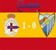 Депортиво - Малага (1:0) (05.01.2013) Видео Обзор