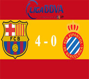 Барселона - Эспаньол (4:0) (06.01.2013) Видео Обзор