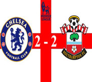 Челси - Саутгемптон (2:2) (16.01.2013) Видео Обзор