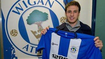 Анхело Энрикес официально стал игроком «Уигана»