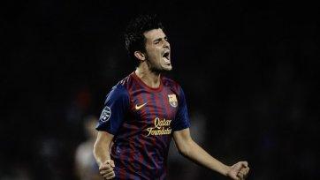 «Барселона» не хочет отпускать Вилью до лета