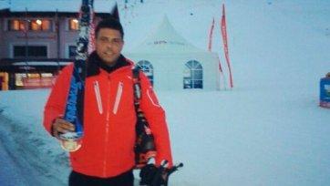 Роналдо стал горнолыжником