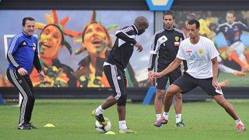 «Анжи» провел первые тренировки в Дубае