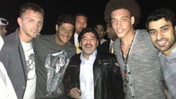Игроки «Зенита» поймали Марадону
