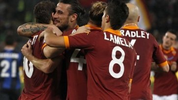 «Рома» переиграла «Интер»