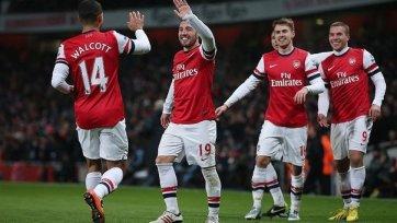«Арсенал» отправил пять мячей в ворота «Вест Хэма»