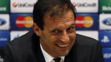 Аллегри рассчитывает на везение в играх с «Барселоной»