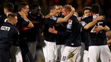 Клуб пятого дивизиона вышел в 1/16 финала Кубка Англии