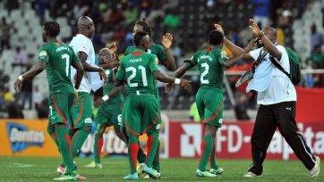 «Замбия» сложила с себя полномочия чемпиона