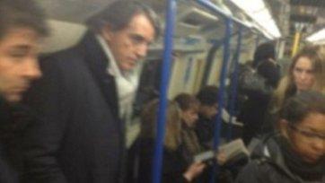 Роберто Манчини добирался на матч «Арсенала» и «Ливерпуля» на метро!