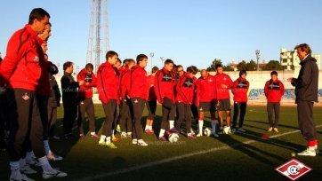 «Спартак» одержал победу в первом товарищеском матче года
