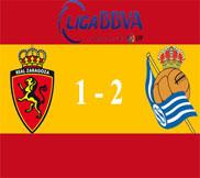 Сарагоса - Реал Сосьедад (1:2) (10.02.2013) Видео Обзор
