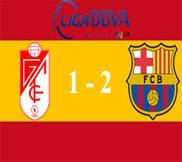 Гранада - Барселона (1:2) (16.02.2013) Видео Обзор