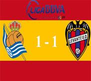 Реал Сосьедад - Леванте (1:1) (17.02.2013) Видео Обзор