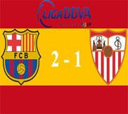 Барселона - Севилья (2:1) (24.02.2013) Видео Обзор