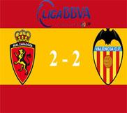 Сарагоса - Валенсия (2:2) (23.02.2013) Видео Обзор