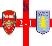 Арсенал - Астон Вилла (2:1) (23.02.2013) Видео Обзор
