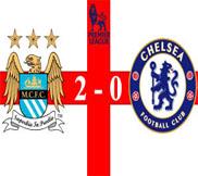 Манчестер Сити - Челси (2:0) (24.02.2013) Видео Обзор
