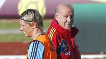 Дель Боске назвал состав на матч с Уругваем