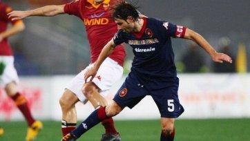 «Кальяри» отправил  4 мяча в ворота «Ромы»