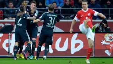 «Бавария» продолжает прокладывать чемпионский путь