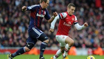 «Арсенал» обыграл «Сток Сити» и закрепился на шестой строчке