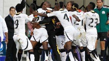 Гана вышла в полуфинал Кубка Африки, Кабо-Верде отправляется домой