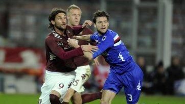 «Торино» и «Сампдория» голов друг другу не забили