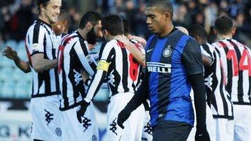 «Интер» сенсационно проиграл «Сиене»