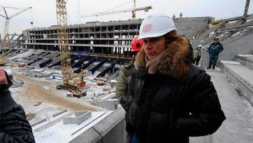 Весной будущего года «Спартак» сможет опробовать новый стадион