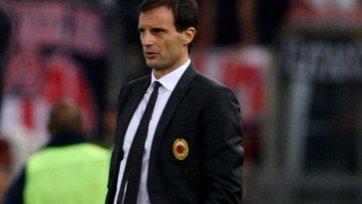 Массимилиано Аллегри будет работать с «Миланом» и в следующем сезоне