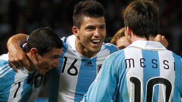 Агуэро: Очень рад, что выиграли первый матч в году