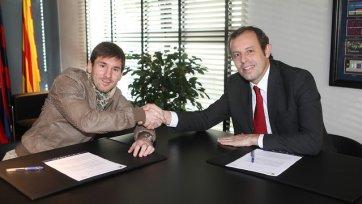 Месси подписал новый контракт с клубом