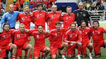 Сборная России завоевала Кубок Легенд по футболу