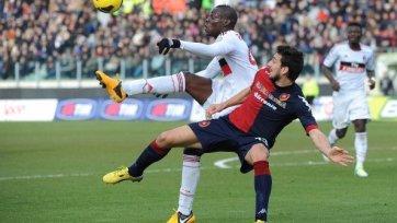 Марио Балотелли вновь забивает, но «Милану» для победы этого мало