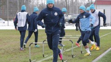 «Зенит» начал подготовку к ответному матчу Лиги Европы