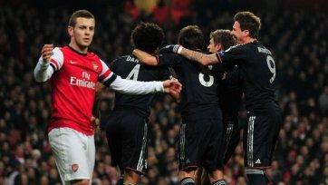 «Арсенал» дома уступил «Баварии» в два мяча