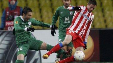 «Рубин» проиграл, но вышел в 1/8 финала Лиги Европы