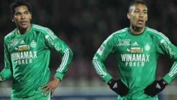 Два удаления, три гола – таков итог противостояния «Нанси» и «Сент-Этьена»