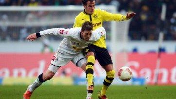 «Боруссия» Дортмунд не потеряло очки в Мюнхенгладбахе