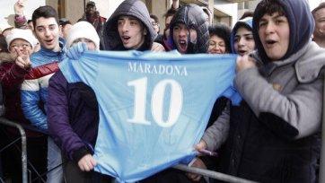 Марадона: Я мечтаю тренировать «Наполи»