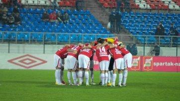 «Спартак» разгромил команду второго украинского дивизиона